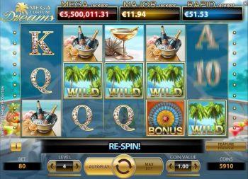 mega fortune flashspiel